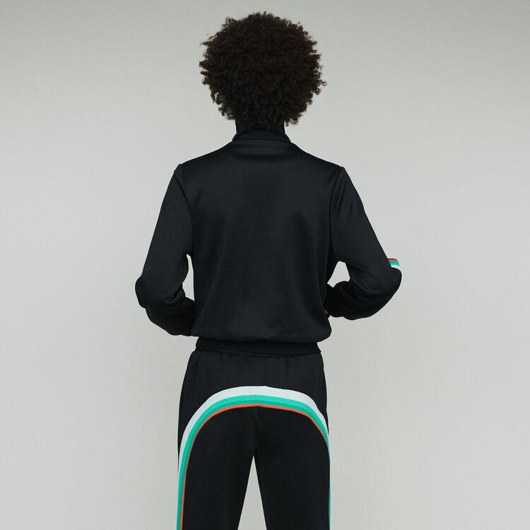 Zipped sport jacket : Blazers color Black 210