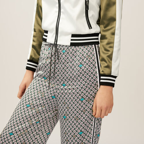Jogging-style trousers : Trousers color PRINTED