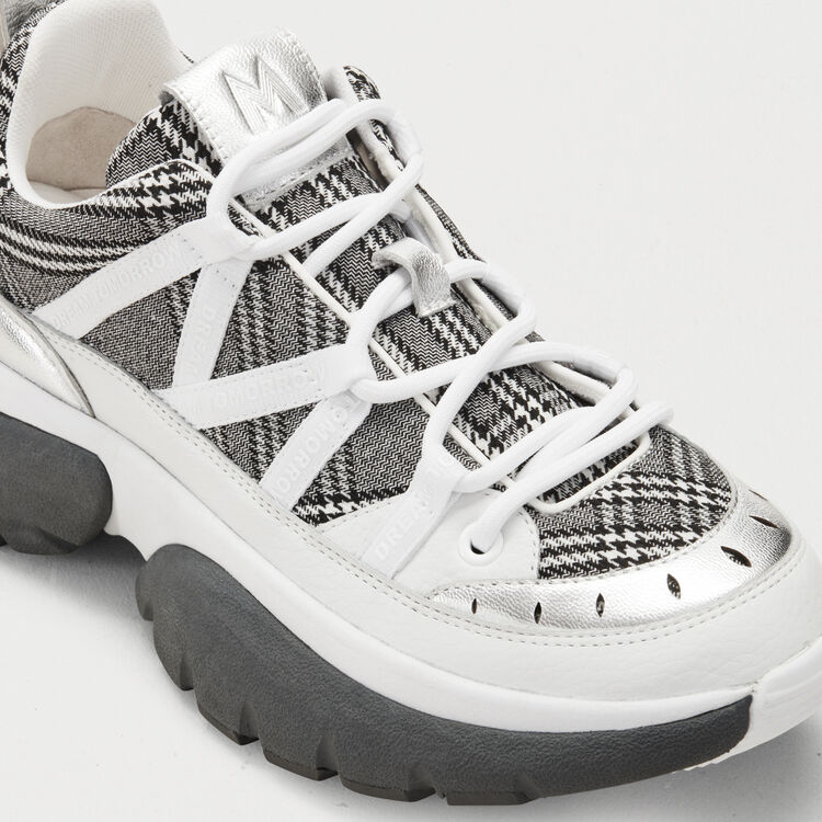 W20 Urban plaid sneakers : Sneakers color Multico