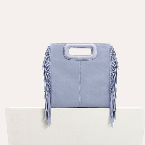 Suede M bag : null color Pink