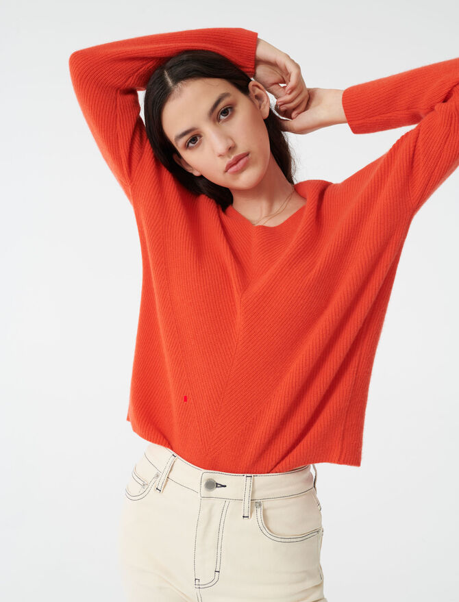 Cashmere sweater -  - MAJE