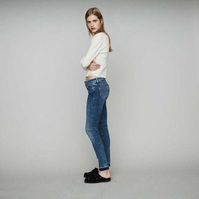 Jean slim en coton stretch - staff-private-sale - MAJE
