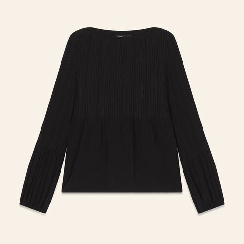 Top with lining : Tops color Black 210