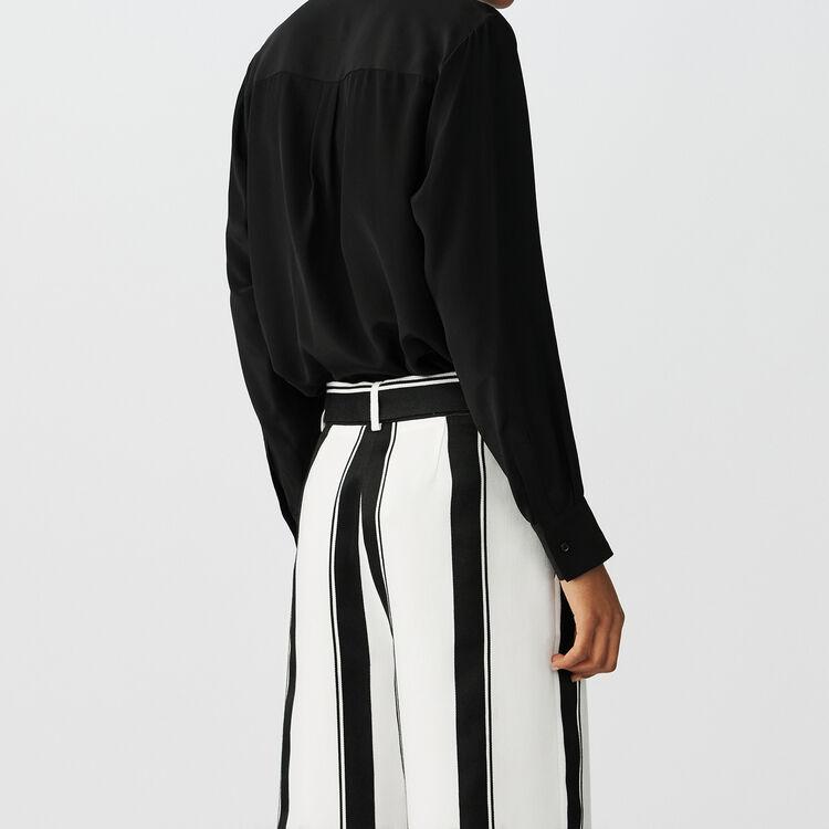 8f2ae05702192 CELA Silk blouse - Tops - Maje.com