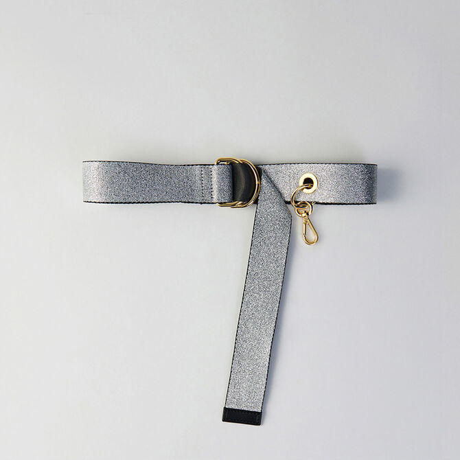 Strappy belt with removable hook - staff private sale 20 - MAJE