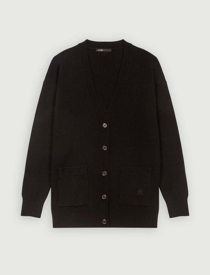 Cashmere cardigan - Pullovers & Cardigans - MAJE