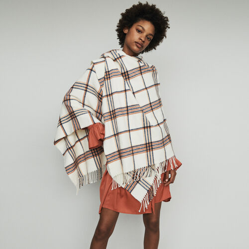 Poncho in stripes : Shawls & Ponchos color Multico