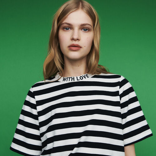 Bicolor striped T-shirt : New in : Summer Collection color Stripe