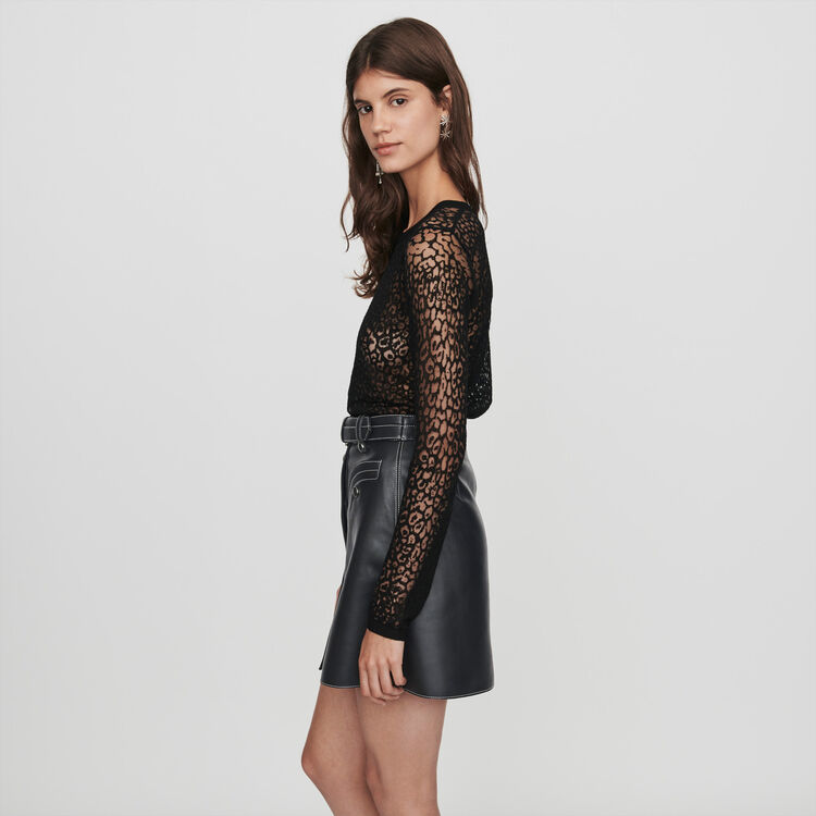 Devore t-shirt : Pullovers & Cardigans color Black