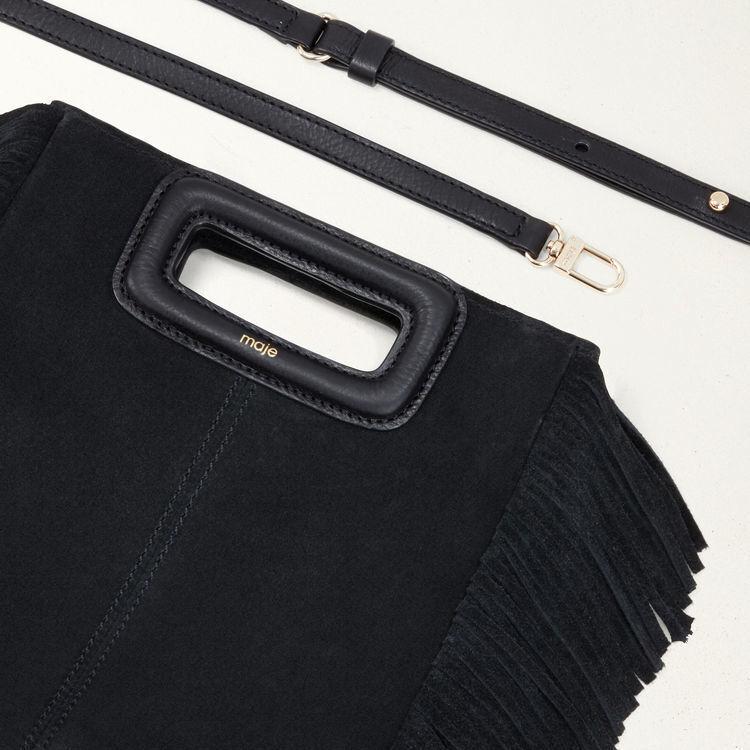 Suede M bag : All bags color Black