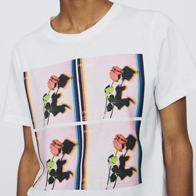 Printed T-shirt - See all - MAJE