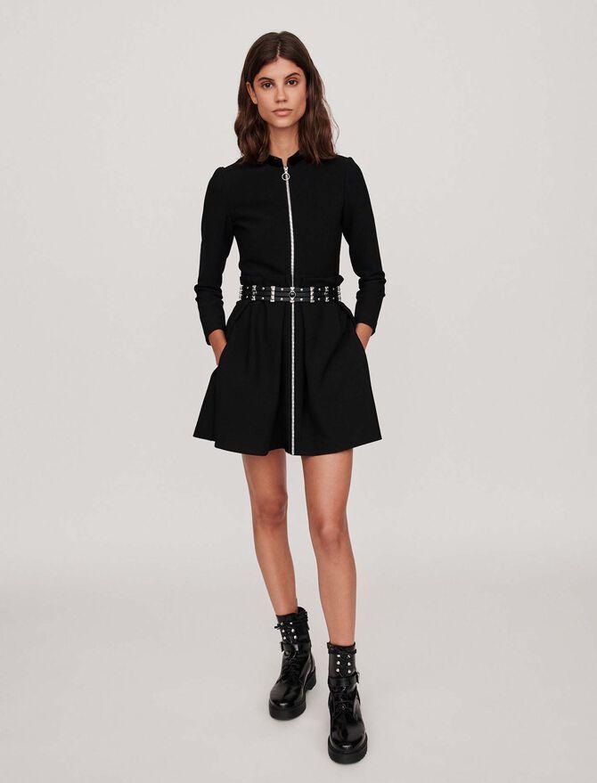 Zipped dress - Dresses - MAJE