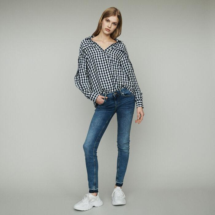 Shirt with vichy print : Shirts color CARREAUX