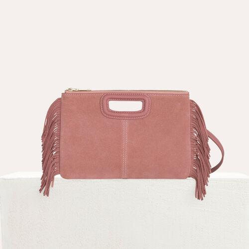 Suede duo bag : M Duo color Pink