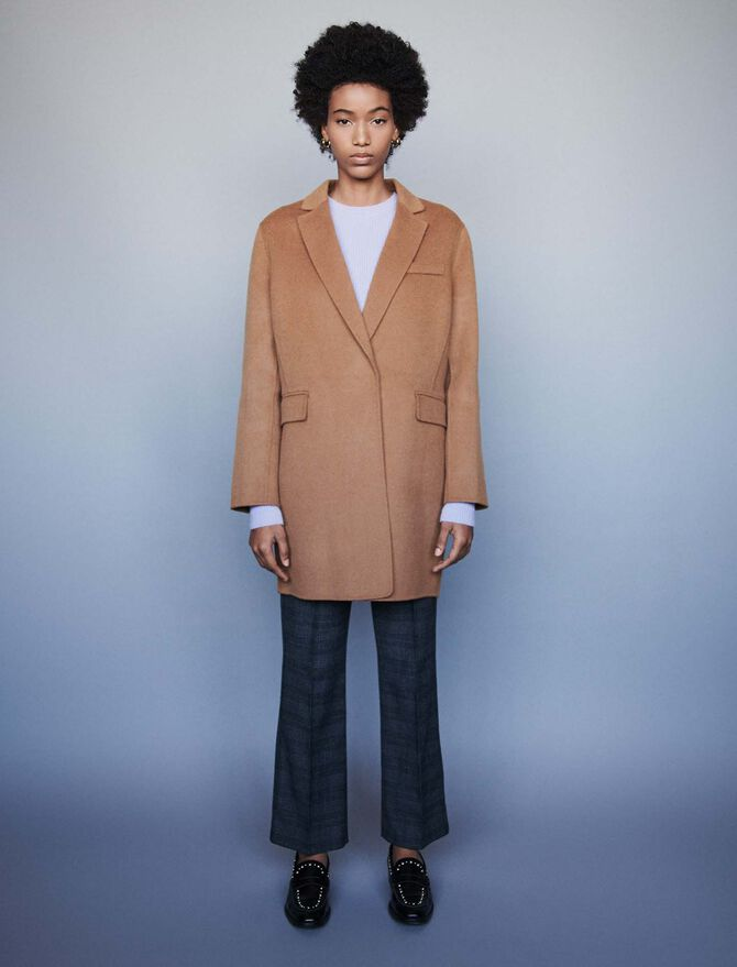 Double face cropped coat - All the collection - MAJE