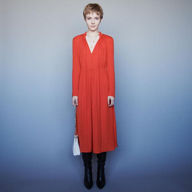 Dress with drawstring waist - staff private sale 20 - MAJE
