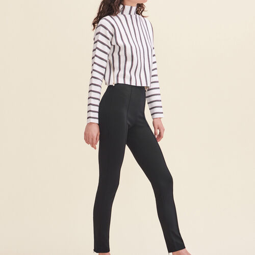 Leggings with stirrups : See all color Black 210