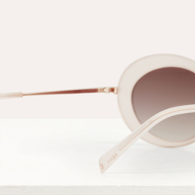 """Butterfly"" sunglasses : Eyewear color Pink"