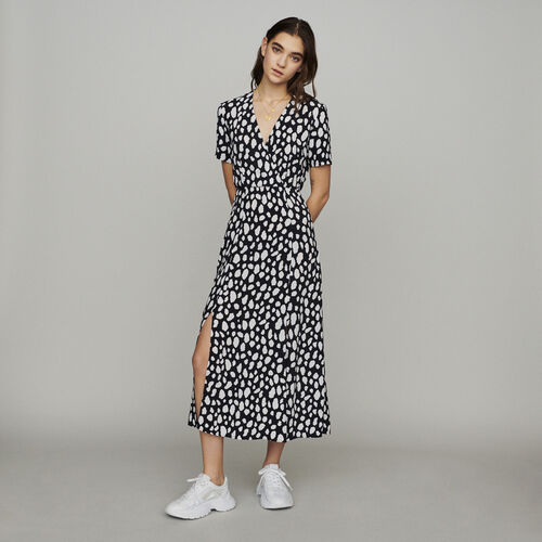 Long printed dress : New in : Summer Collection color PRINTED