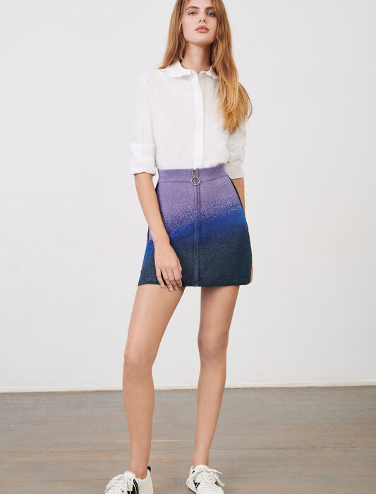 Flat tie sandals with studs : Skirts & Shorts color Ocean