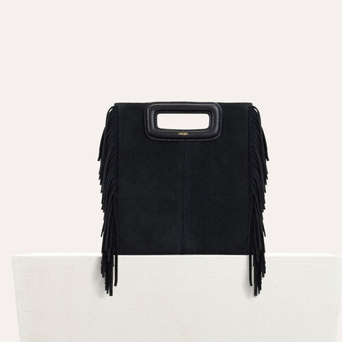 Suede M bag : M bags color Black 210