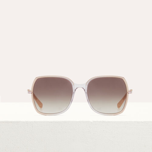 Sunglasses in acetate and metal : Eyewear color Pink