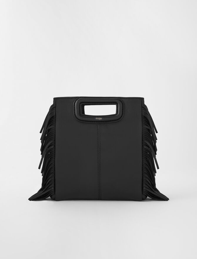 Dark green M bag -  - MAJE