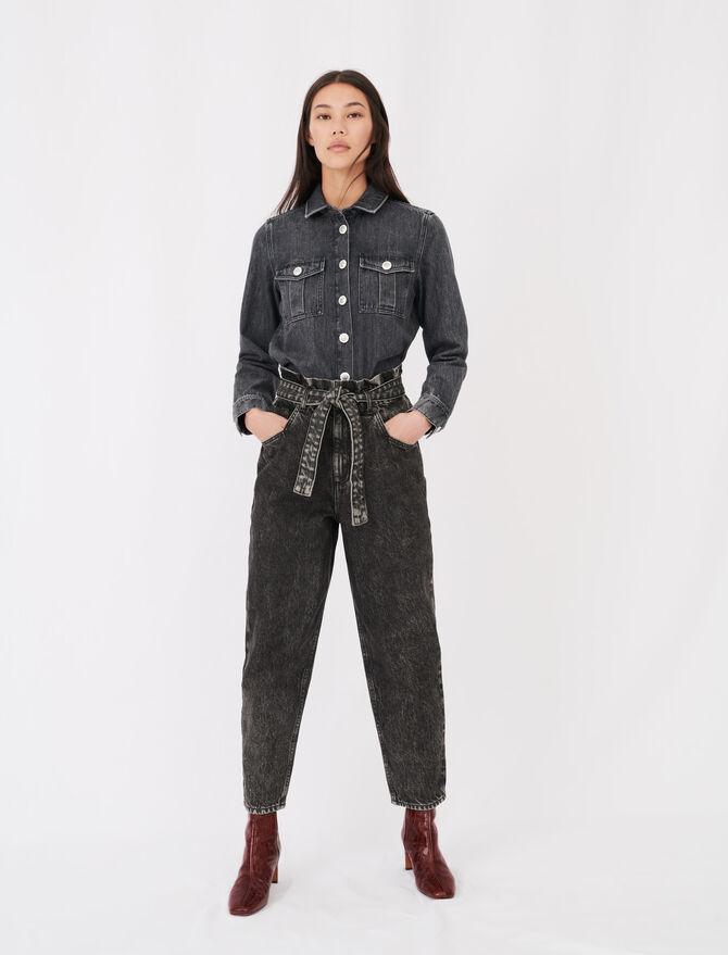 Slouchy jeans - Eco-friendly - MAJE