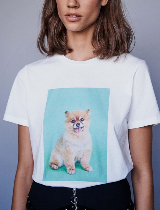 Tee-shirt imprimé - Pap_Tshirts - MAJE