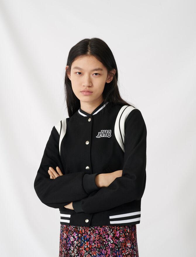 American teddy-style jacket - Coats & Jackets - MAJE