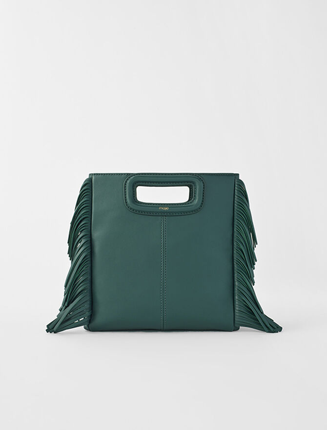 Leather M bag - All bags - MAJE