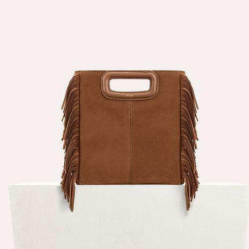 Suede M bag : Summer collection color Black 210