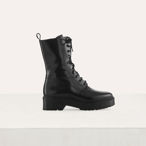 Ranger style booties : null color Black 210