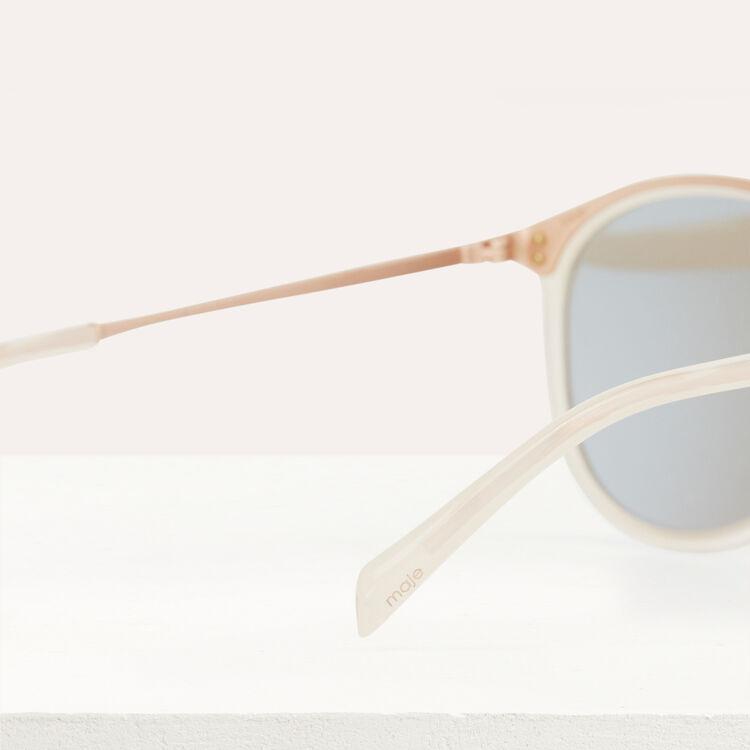 Lunettes de soleil en acétate et métal : Eyewear color Scale