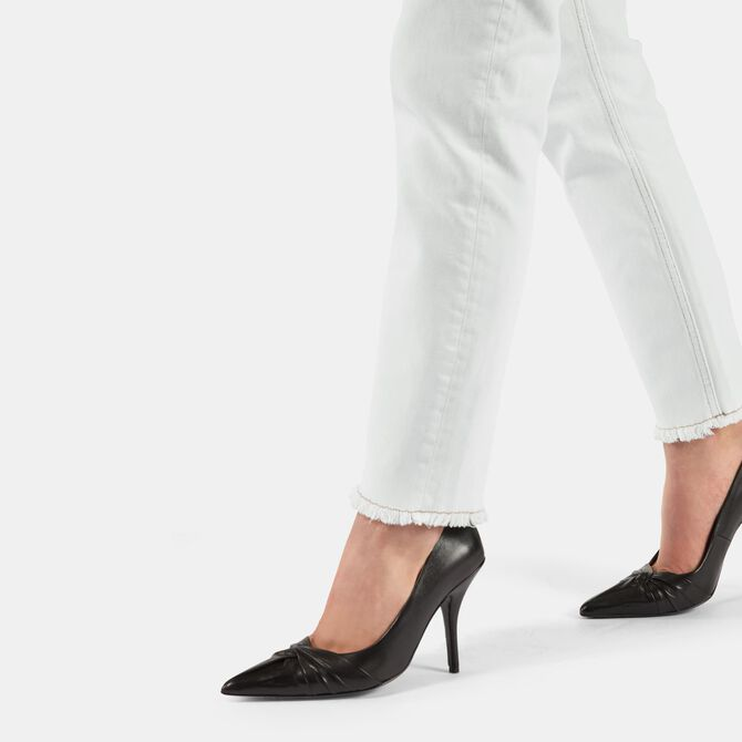 Draped leather pumps - See all - MAJE