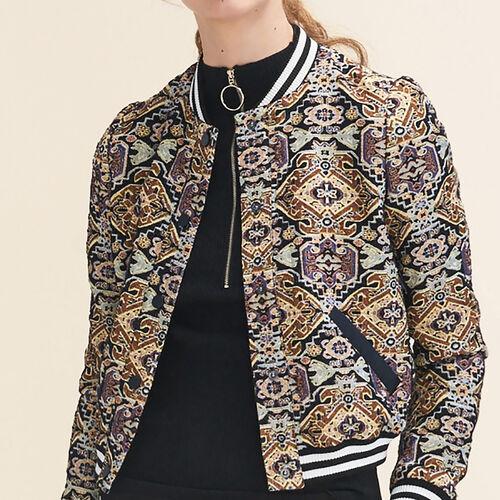 Jacquard jacket : Jackets & Blazers color Jacquard