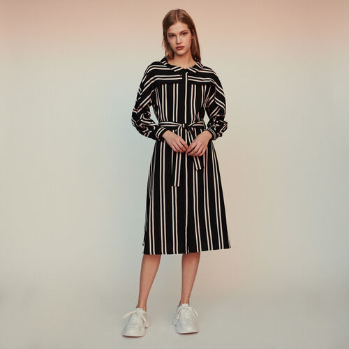 Striped shirt dress : Dresses color Stripe