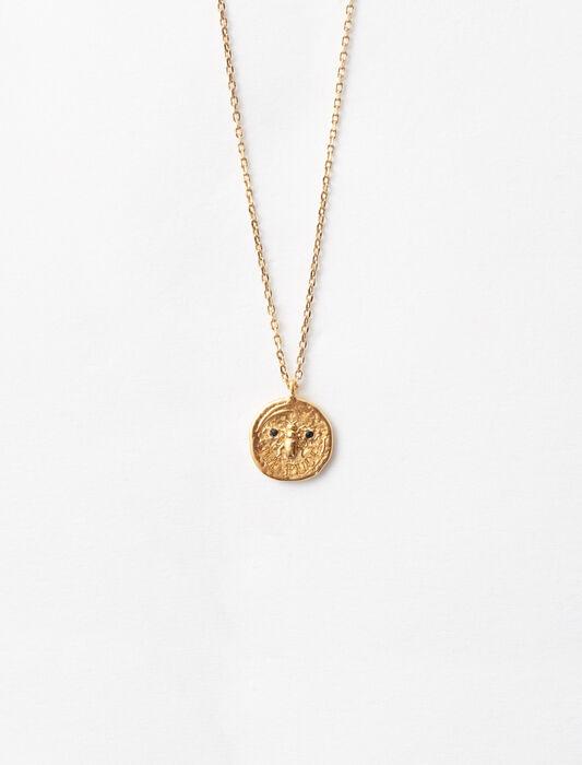 """Collier """"Ma puce"""" en plaqué or : Accessoires_Bijoux couleur Or"""