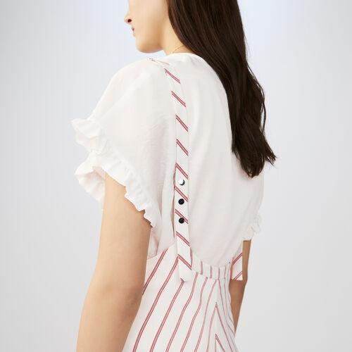 Striped skirt : Dresses color Stripe