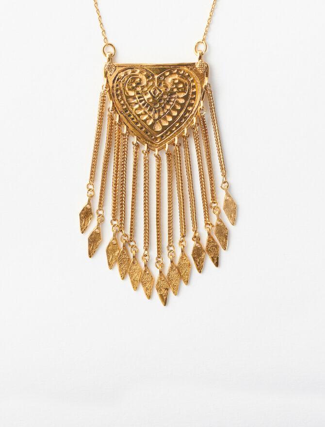 Collier à pendentif inspiration berbère - Accessoires_Bijoux - MAJE