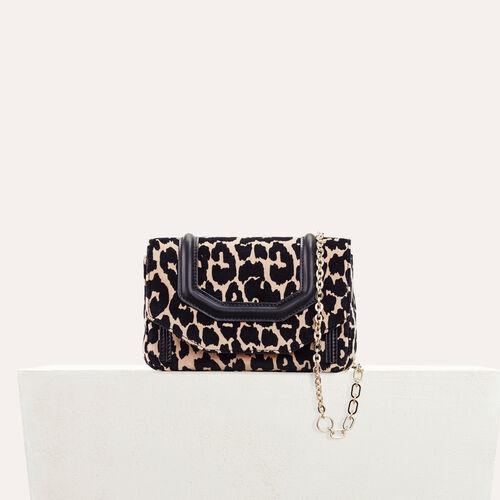 Leopard print evening bag : LDance bags color PRINTED