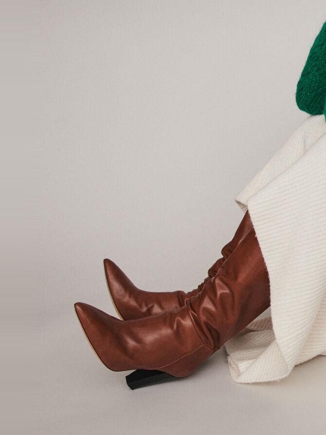 Fancy knit sweater -  - MAJE