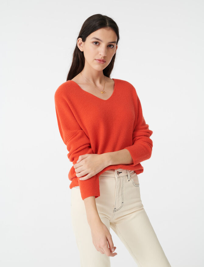 Cashmere sweater - Pullovers & Cardigans - MAJE
