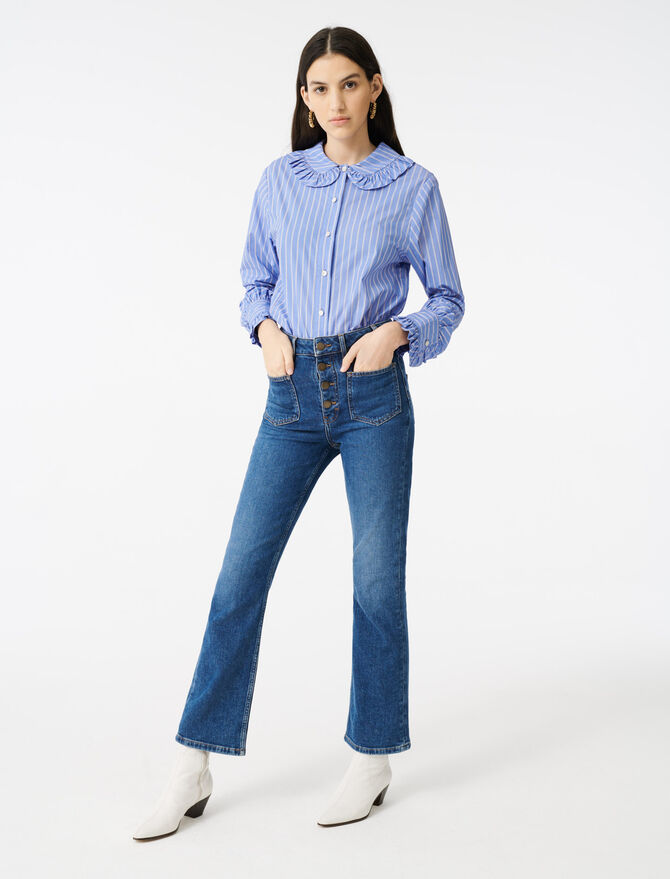 Jean à poches - Pap_Pantalons-Jeans - MAJE