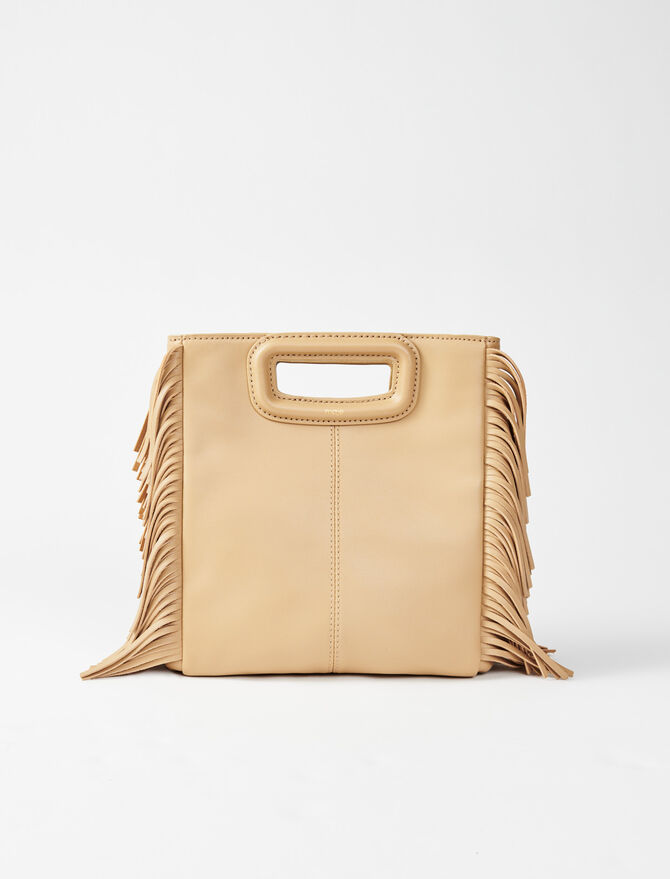 Leather M bag - M bags - MAJE