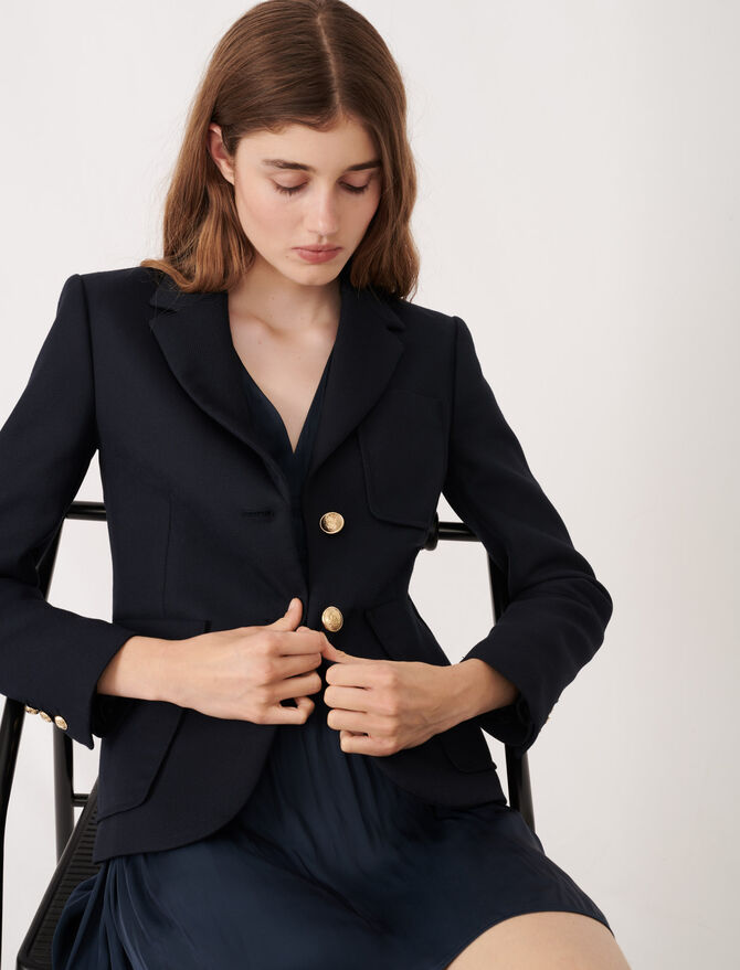 College-style suit jacket - Blazers - MAJE