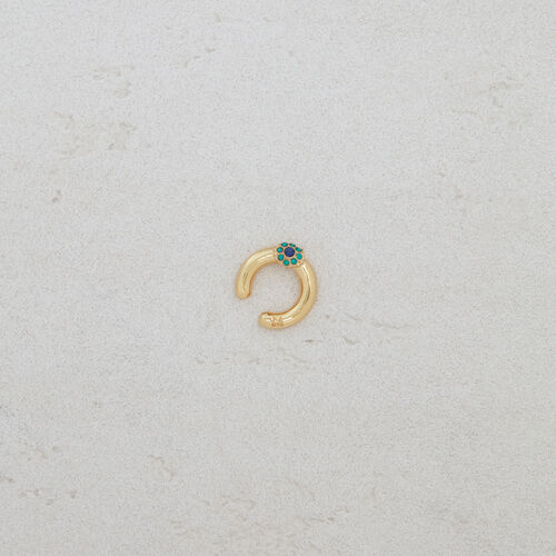 "Earcuff ""Eye"" : Jewelry color GOLD"