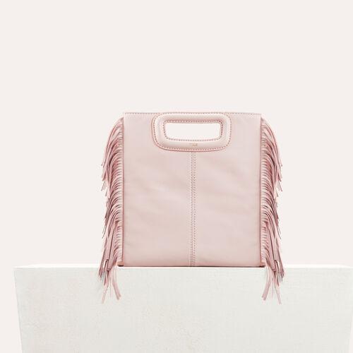 Lambskin M bag : M bags color Nude