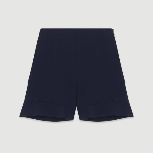 Short à volants : Pap_Jupes-Shorts couleur MARINE