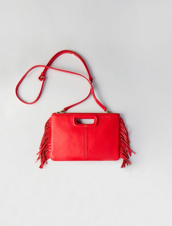 Leather M Duo purse - M Duo - MAJE